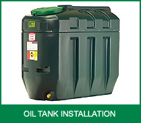 Oftec Oil Tank Installation